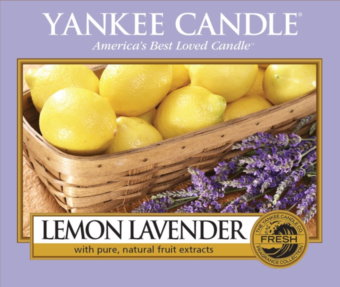 Lemon Lavender Label