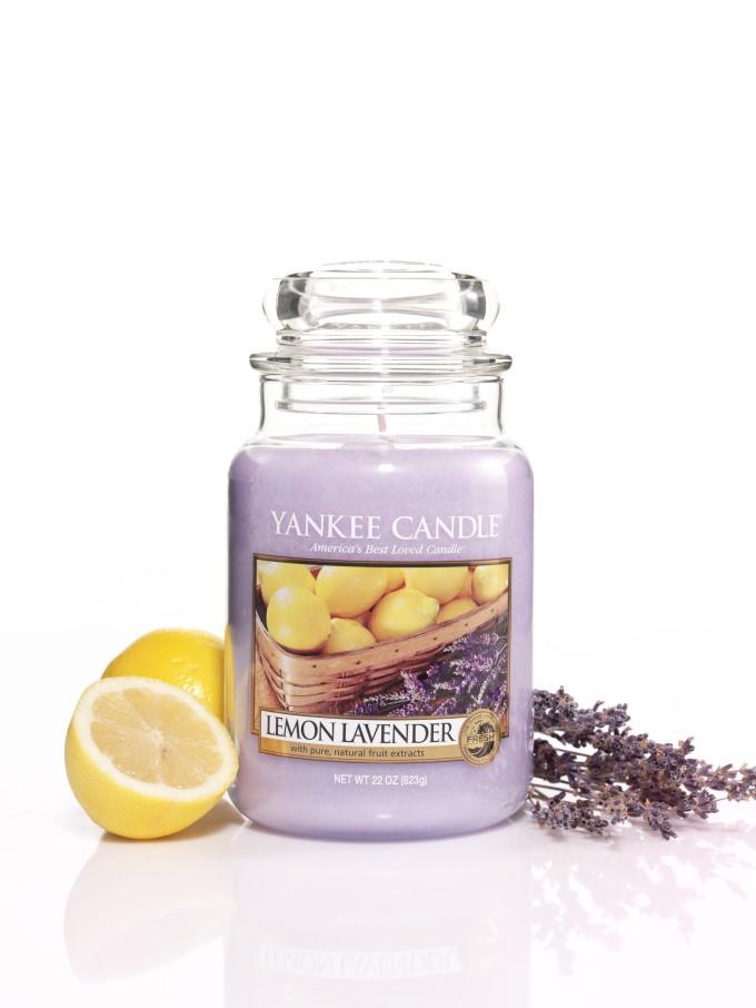 Lemon Lavender - YC Large Jar w. lemons